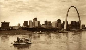 st Louis skyline aerials