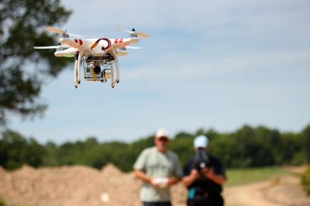 St Louis aerial video drone crew. We adhere to FAA suggestions for a two man crew for safety.